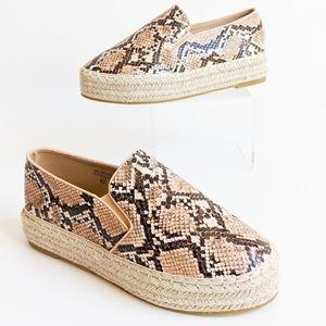 Bella Marie Slip On Espadrille Platform Sneakers